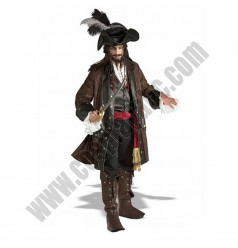 Pirates of the Caribbean- Captain Jack Sparrow Costume