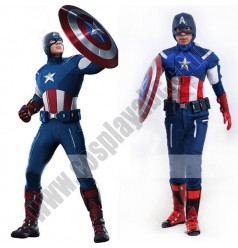 Mens Captain America Costume