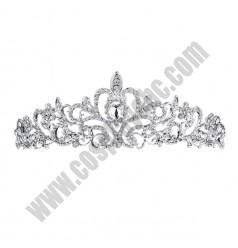Princess Rhinestone Crown Hoop