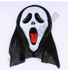 Black Ghost Mask