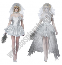 Bride Of Chucky- Doll Bride Costume