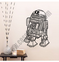 R2D2 Robot Wall Stickers