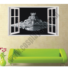 Imperial Class Star Destoryer Wall Stickers