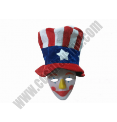 Clown Mask And Hat