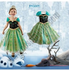 Kids Disney Princess Anna Dress
