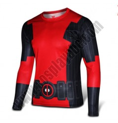 Deadpool Cycling Clothing Costume