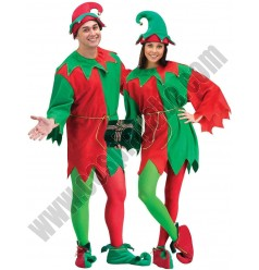 Christmas Costume Couple Suit