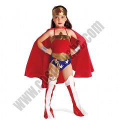 Kids Girls Wonder Woman Costume