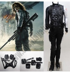 Winter Soldier Costume Accesories Suit