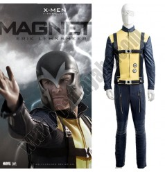 X-Men Young Magneto Yellow Jumpsuit