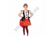 Kids Red Queen Costume