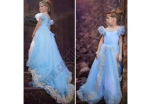 Kids Child Cinderella Costume