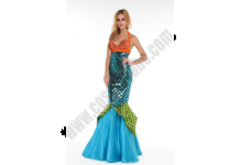 Blue Mermaid Costume