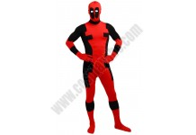Adult Deadpool Spandex Costume