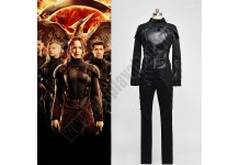 The Hunger Games 3 -Katniss Black Costume