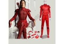 The Hunger Games 2 -Katniss Red Costume