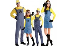 Despicable Me- Adult Child Minions Costume