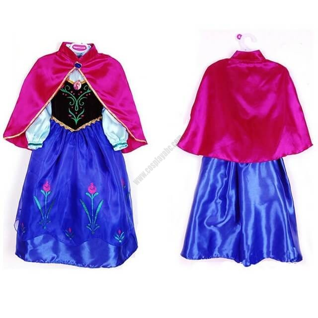 Disney Princess Anna Costume For Child  sc 1 st  Halloween Party Cosplay Costumes Cosplayabc & Cheap Kidu0027s Party Dress Good Cosplay For Princess Anna Diamond ...
