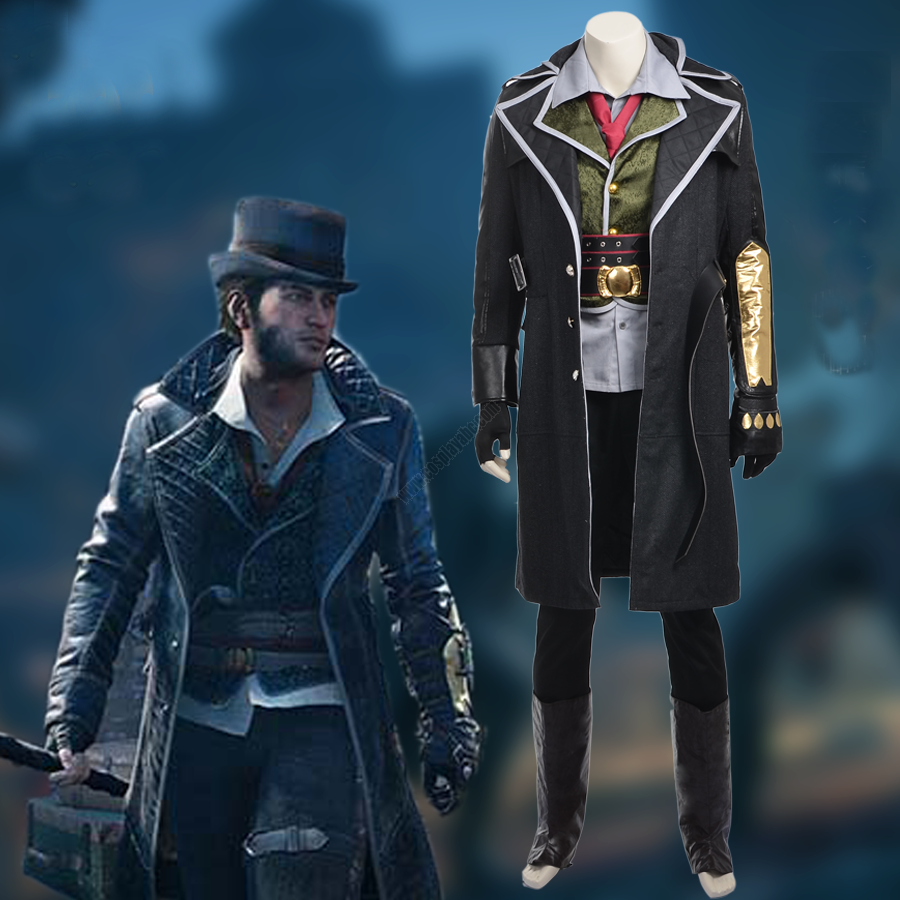 Best Sales Of Assassin S Creed Jacob Frye Costume Adult Game Cosplay