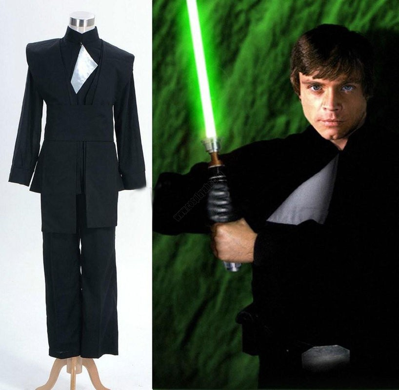 Lowest Price For New Top Grade Star Wars Luke Skywalker Costume