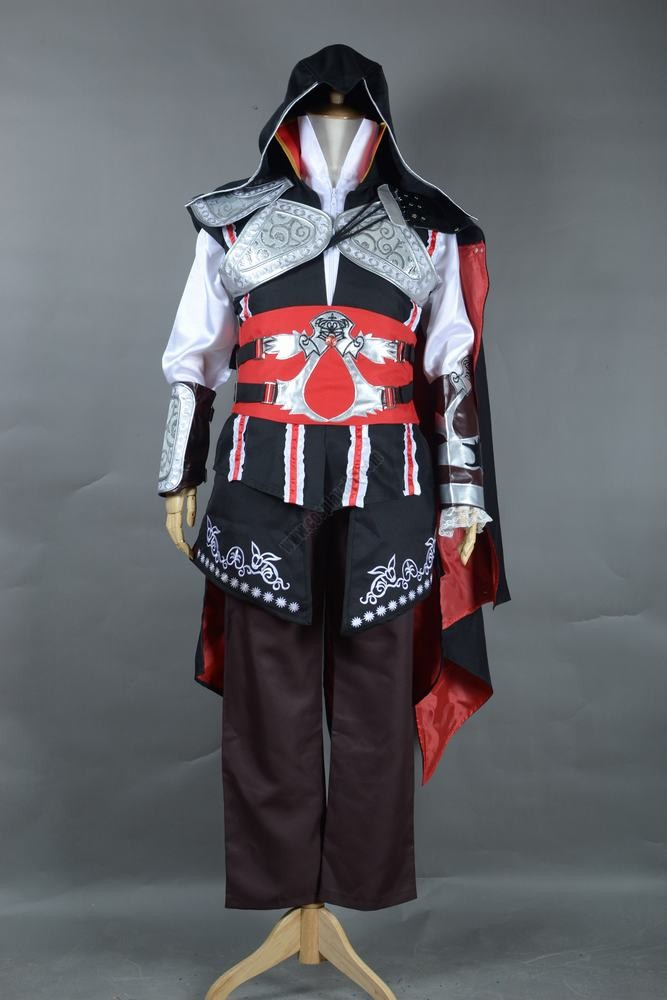 Adult Game Assassins Creed 2 Cosplay Cheapest Ezio Auditore