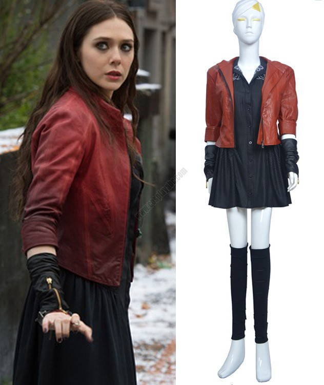The Cheapest Super Hero Scarlet Witch Woman Costume Suit Of Film ...