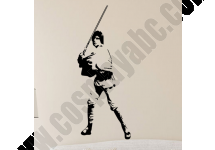 Luke Skywalker Wall Stickers