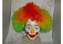 Adult Clown Mask Wig