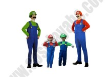 Adult Child Mario Luigi Costume