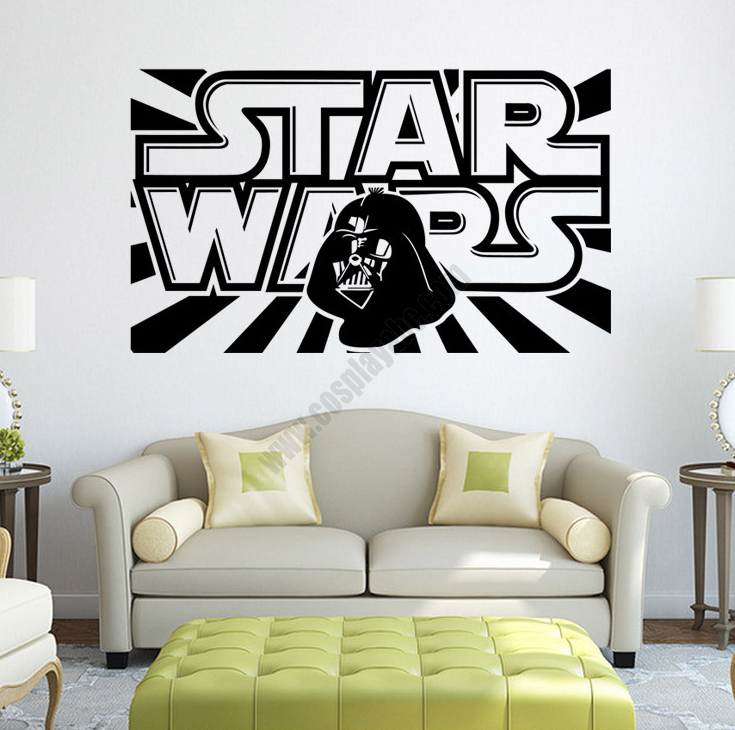 Quality Pvc Star Wars Wall Stickers For Sale 3d Effect Removable