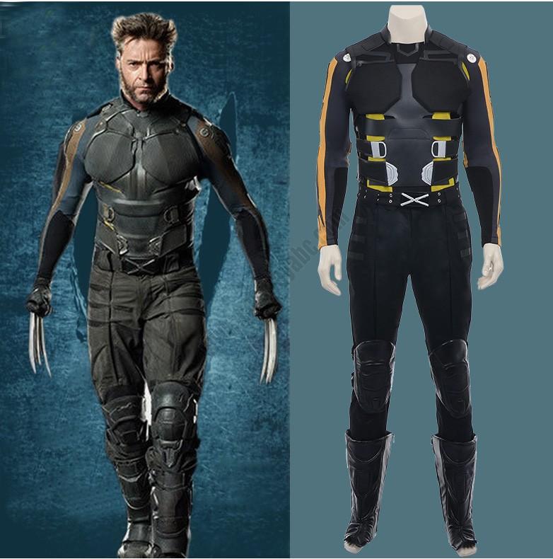 Hot Online Sale Super Hero Wolverine Men Costume Suit Of ... X Men Costumes
